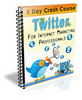 Thumbnail Twitter - For Internet Marketing Professionals